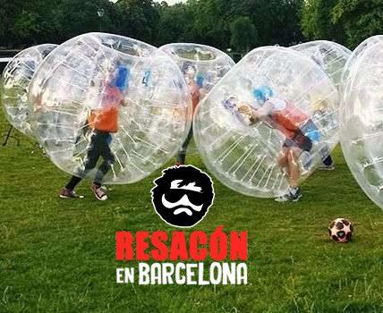 bubblefootball - Fútbol burbuja para despedidas de soltero