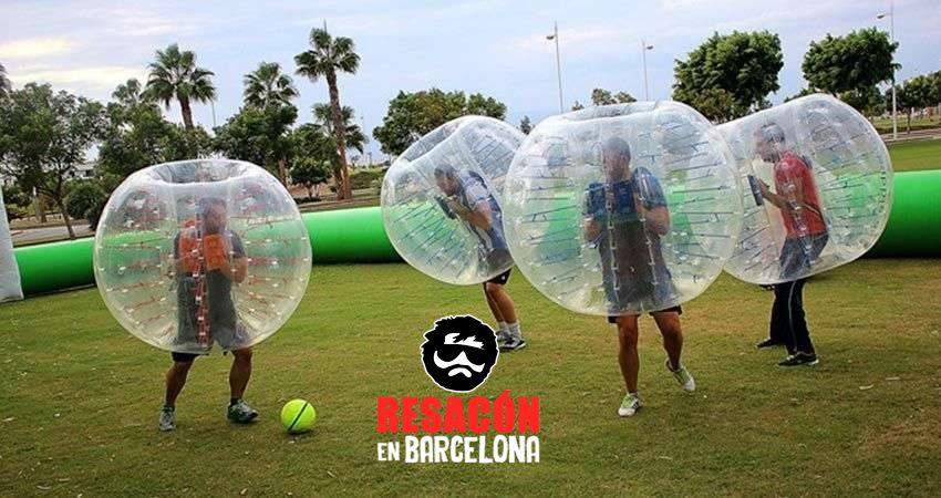futbolburbuja - Fútbol burbuja para despedidas de soltero
