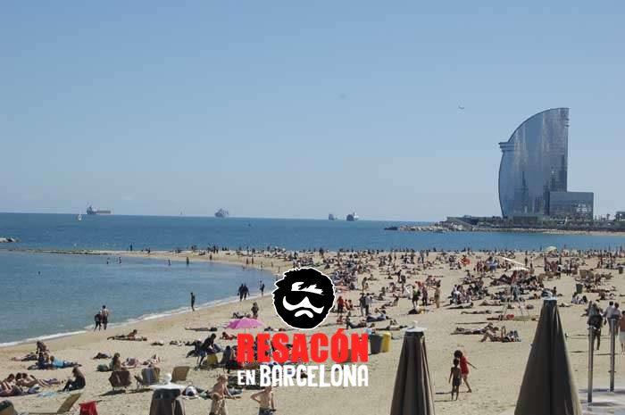 barcelona beach - Las ciudades con la mejor fiesta en España