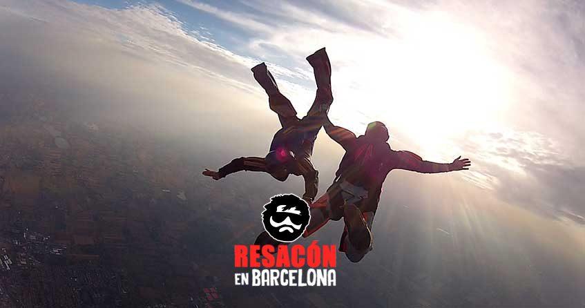 paracaidas2 - Tirar al novio en paracaidas en su despedida, brutal!