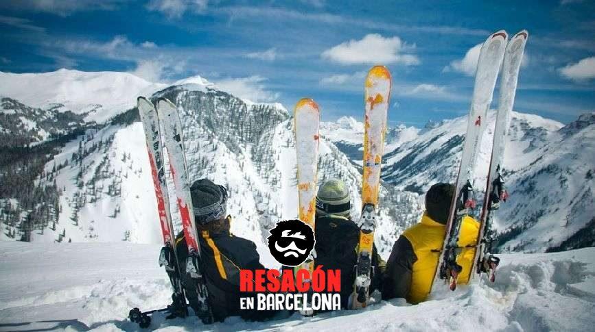 despedida de soltero invierno - Organizar una despedida en invierno: pros y contras