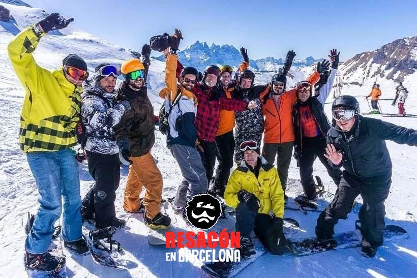 despedidas de soltero en la nieve - Organizar una despedida en invierno: pros y contras