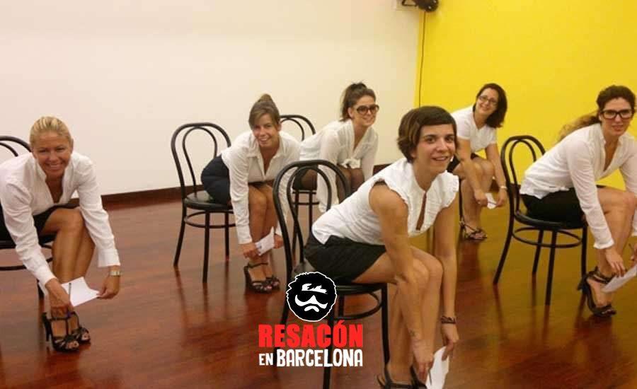 streaptease - Curso para aprender a hacer un strip-tease en una silla
