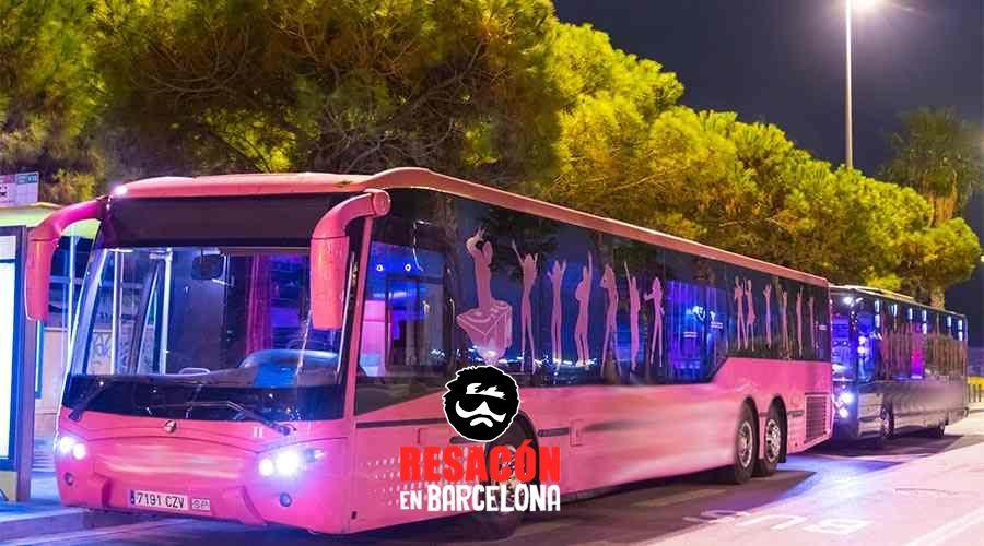 Fiesta en autobuses por Barcelona 2 - Fiesta en autobuses por Barcelona