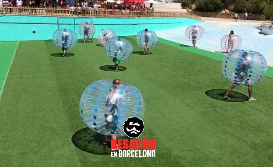 Bubble Football en Sitges para despedidas y cumpleaños 2 - Bubble Football en Sitges para despedidas y cumpleaños